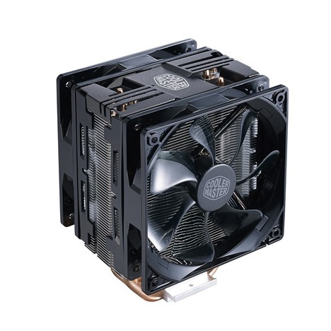 Cooler Master Hyper 212 LED Turbo CPU Cooling Fan (Dual 12cm Fan)
