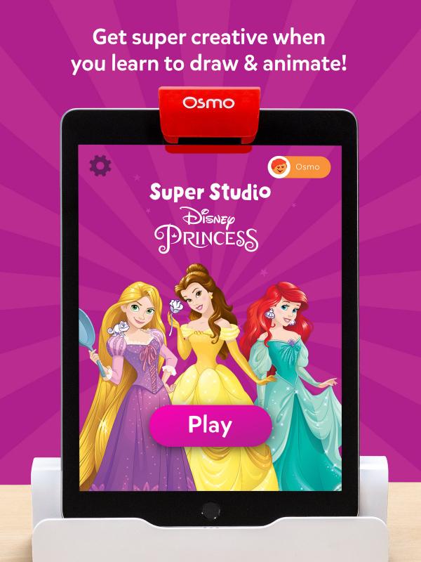 Osmo Super Studio Disney Princess 迪士尼公主配件組 不含底座