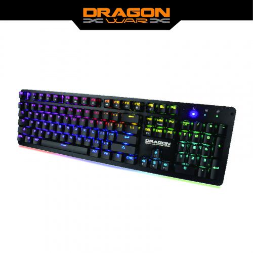 Dragon War - GK-016 RGB 燈效青軸電競鍵盤 Gaming Keyboard