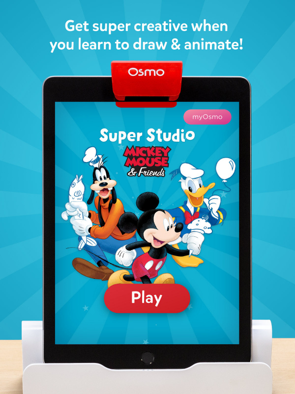 Osmo Super Studio Disney Micky Mouse 米奇老鼠 配件組 不含底座 香港行貨
