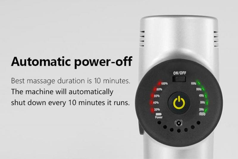 Booster - 深層肌肉治療按摩槍 - Booster X (銀黑色)