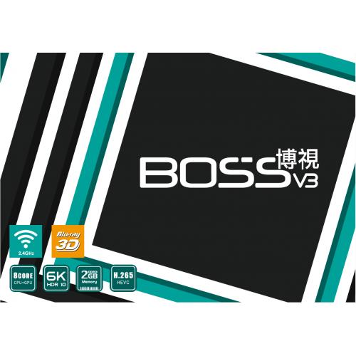 2019 Boss TV 博視電視盒子[V3/V3 Pro]