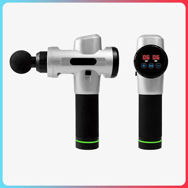 日本TSK - 新10檔調節觸屏式深層肌肉治療按摩槍+送(4個轉換頭)