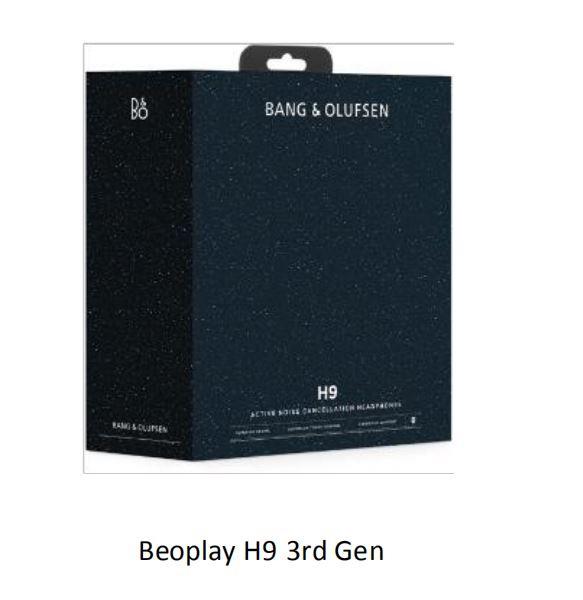【香港行貨】B&O BANG & OLUFSEN Beoplay H9 3rd GEN [特別版] 星空藍