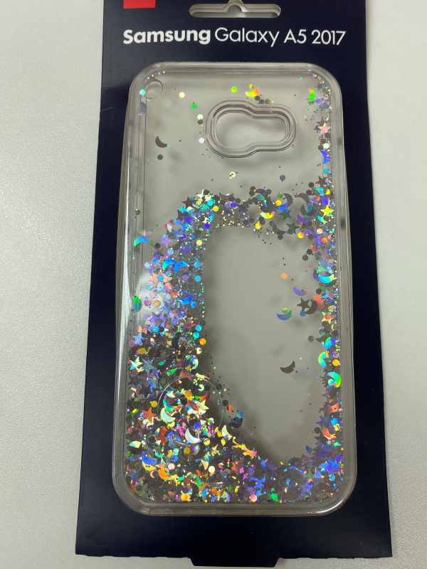 Connect Samsung A5 液態幻彩銀閃粉