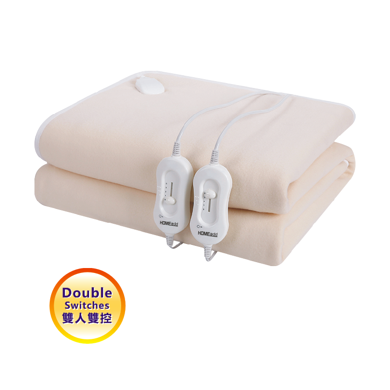 HOME@dd® 抓毛絨可機洗電暖毯 [單人/雙人/雙人定時] [3款]
