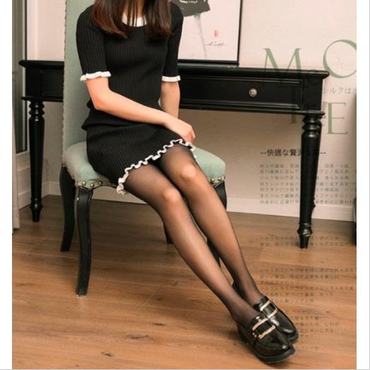 E.MASIA - Ginza 超薄着壓 透膚絲襪 (黑色)