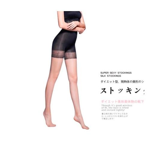 E.MASIA - Ginza 魅素肌感 透膚絲襪 (黑色) 1對