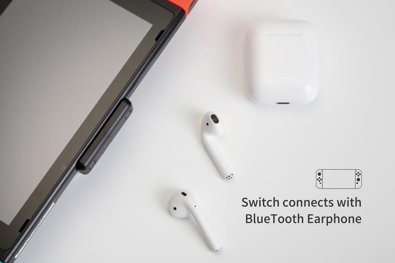 Gulikit Route Air Pro 帶咪藍牙發射器最適用於Nintendo Switch,PS4,PC