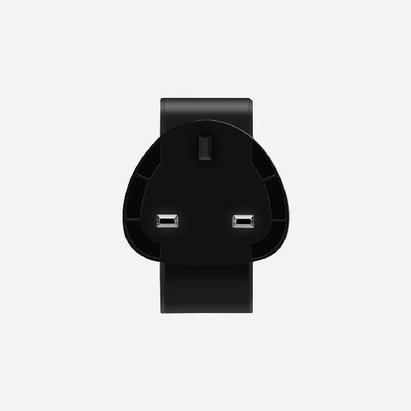 MOMAX ONE Plug USB + Type C 雙插口智能快速充電器 UM8UK 【行貨保養】