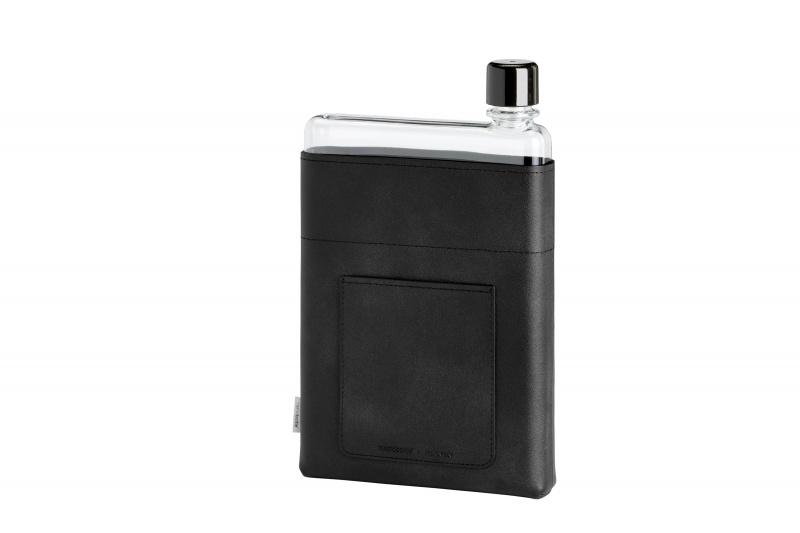 Memobottle - A5 水樽皮革套 黑色 (不包含水樽)