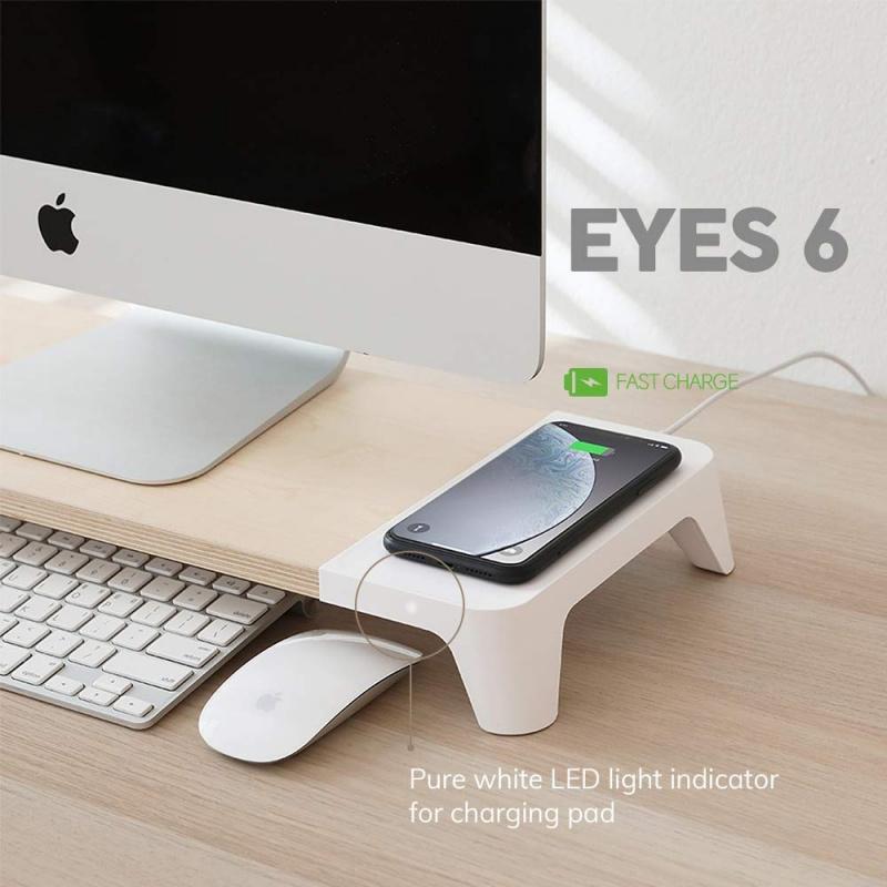 Pout Eyes 6 快速無線充電電腦支架