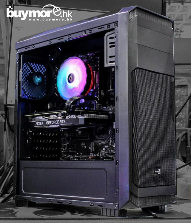 💡【Whatsapp:69696926網上落單】 Intel Core i5-9400F處理器 GIGABYTE GA-H310M S2H主板 ADATA Premier 8GB記憶體 KINGSTON A2000 250G NVMe SSD MSI RTX2060 SUPER顯卡 AEROCOOL Aero-300機箱 / 550W火牛