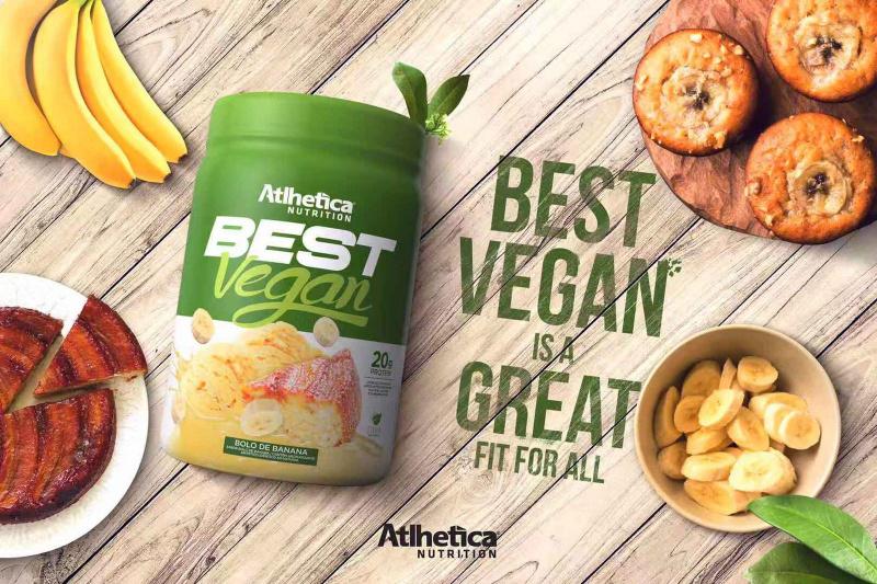 BEST VEGAN全素超級食物蛋白粉500克(士多啤梨香蕉)