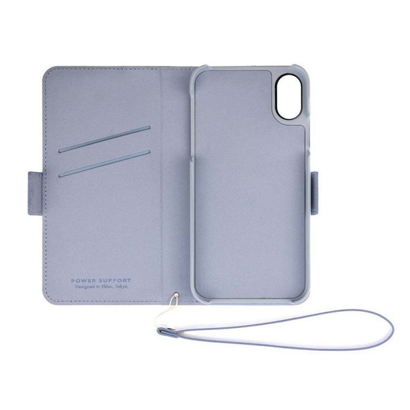 Power Support Leather (PU) Flip Case for iPhone X / XS 【行貨保養】