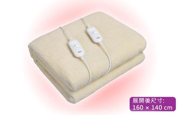 Turbo Italy 單雙人仿羊毛電熱暖毯 [2尺寸] (TEB-164/TEB-154)