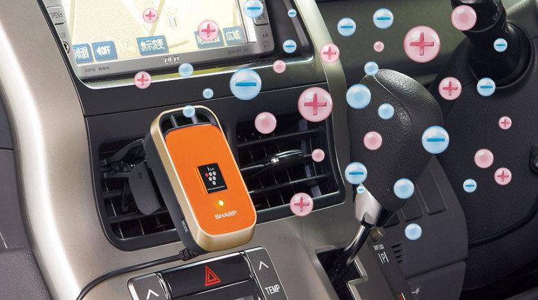 SHARP - (掛夾式) IG-KC1新款高濃度PCI除菌離子車用空氣清新機 (日本版橙色) (日本版桃紅色)