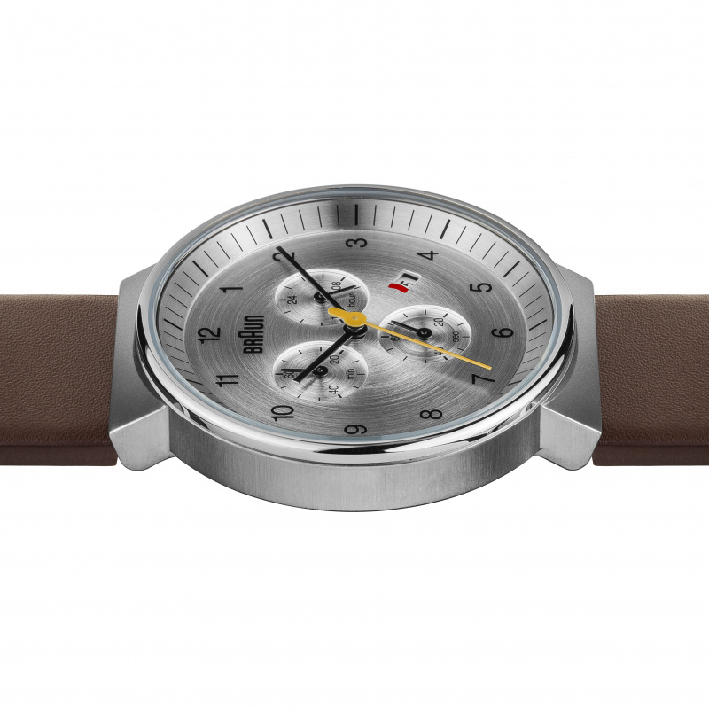 Braun Gents - BN0035 Classic Chronograph Watch with Leather Strap