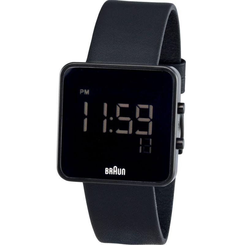 Braun Gents - BN0046b Digital Watch with Rubber Strap