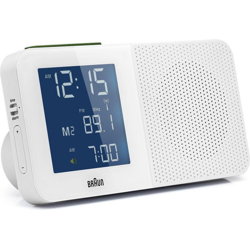 Braun Clocks - BNC010-RC Lcd Digital Global Radio Controlled Alarm Clock