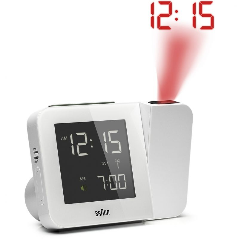 Braun Clocks - BNC015-RC Digital Global Radio Controlled Projection Clock