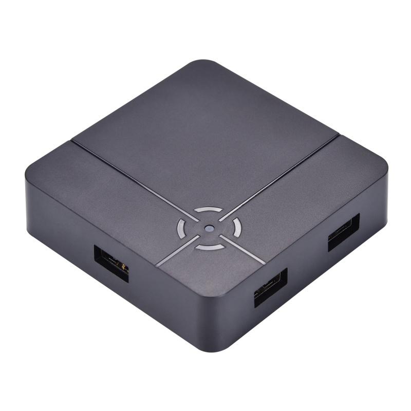 ReaSnow S1/PS4鍵鼠轉換器ps4/xbox/switch/G27滑鼠宏Cross Hair
