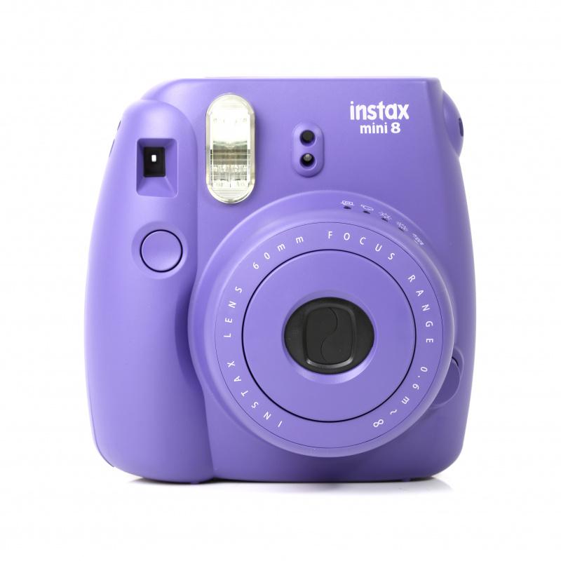 Fujifilm Instax Mini 8 即影即有相機 [白色/紫色]