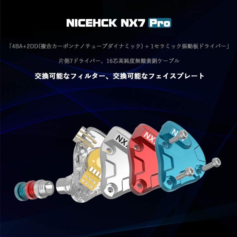 NICEHCK NX7 Pro 七單元耳機