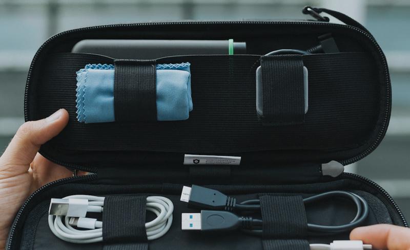 Side by Side The Power Packer 旅行線材收納袋 [3色]