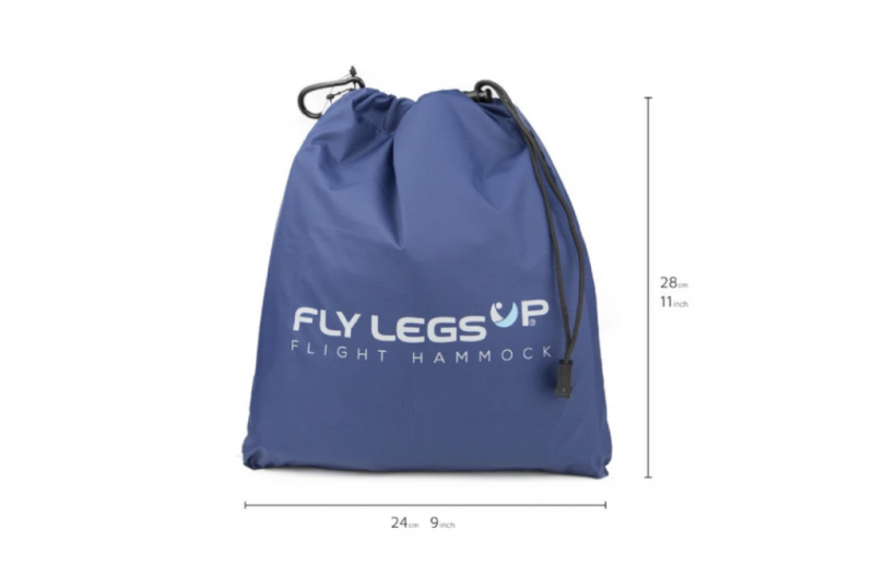 Fly LegsUp Flight Hammock 攜帶式旅行腳踏墊