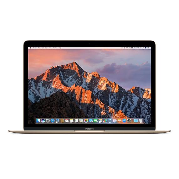 Apple 翻新產品 12 吋 MacBook 1.2GHz 雙核心 Intel Core m3 - 金色 / FNYK2ZP/A RFB MB 12 GOLD