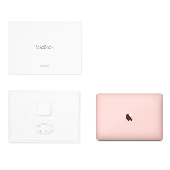 Apple 翻新產品 12 吋 MacBook 1.2GHz 雙核心 Intel Core m3 - 玫瑰金色 / FNYM2ZP/A RFB MB 12 ROSE GOLD
