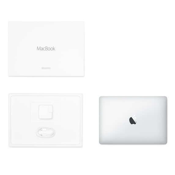 Apple 翻新產品 12 吋 MacBook 1.3GHz 雙核心 Intel Core i5 - 銀色 / FNYJ2ZP/A RFB MB 12 Silver