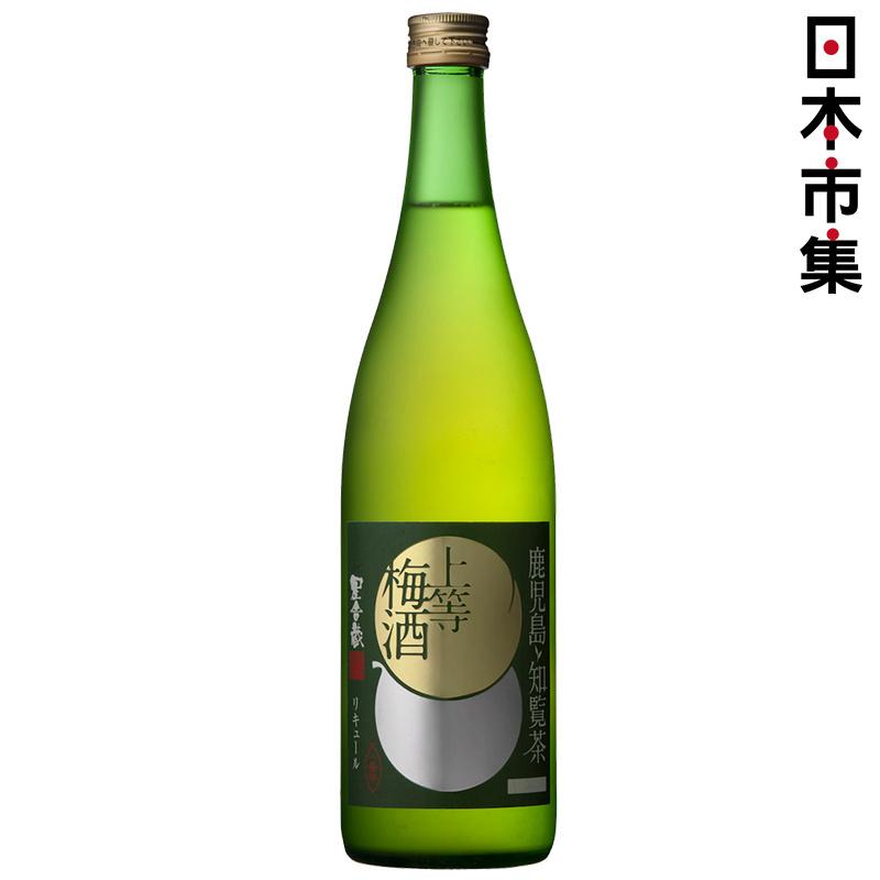 日版 本坊酒造 上等鹿兒島知覧綠茶梅酒 720ml【市集世界 - 日本市集】