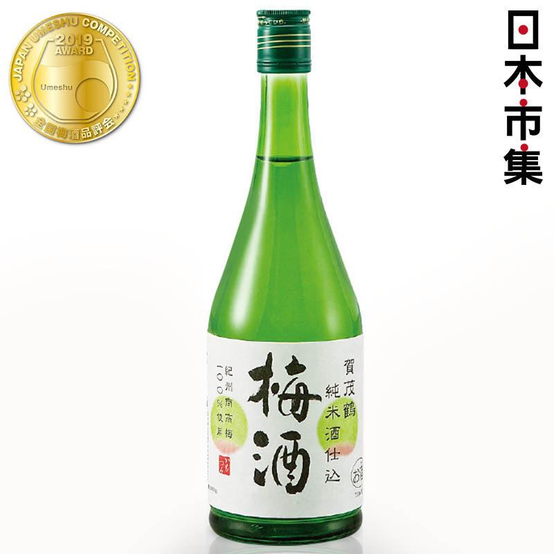 日版 賀茂鶴一滴入魂酒造 純米仕込み梅酒 720ml【市集世界 - 日本市集】