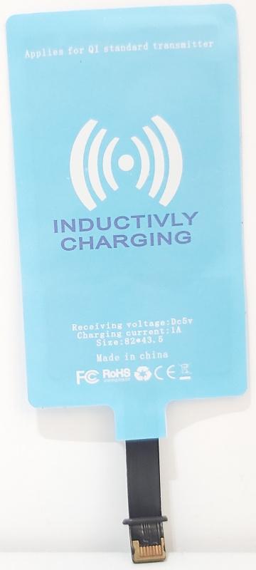 無線充電接收器接收貼片適用蘋果iPhone無線充接收貼片Qi手機