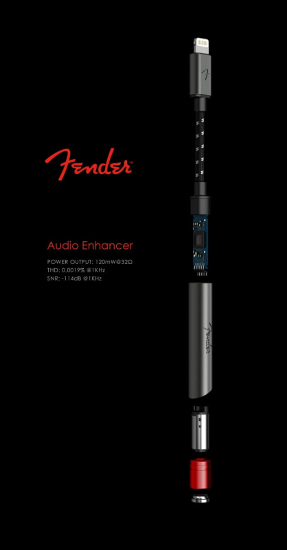 【蘋果專用】Fender AE1i Audio Enhancer