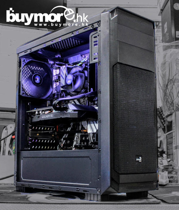 💡【Whatsapp:21173773網上落單】 Intel Core I7-9700處理器 GIGABYTE Z390 UD主板 APACER 8GB 2666MHz 記憶體 APACER AS340 480GB 2.5 SSD INNO3D RTX2060 SUPER TWINX2顯卡 AEROCOOL Aero-300機箱 / Cooler Master MWE 550