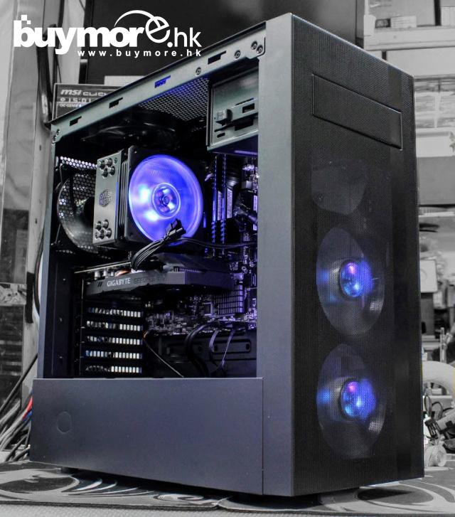 💡【Whatsapp:21173773網上落單】 AMD Ryzen 5 3600處理器 GIGABYTE B450 AORUS-M主板 G.SKILL Aegis 8GB記憶體 ADATA SX6000 512G NVMe SSD GIGABYTE GTX1660TI顯卡 COOLERMASTER NR600機箱 / MWE 650w 212 RGB 塔式風冷