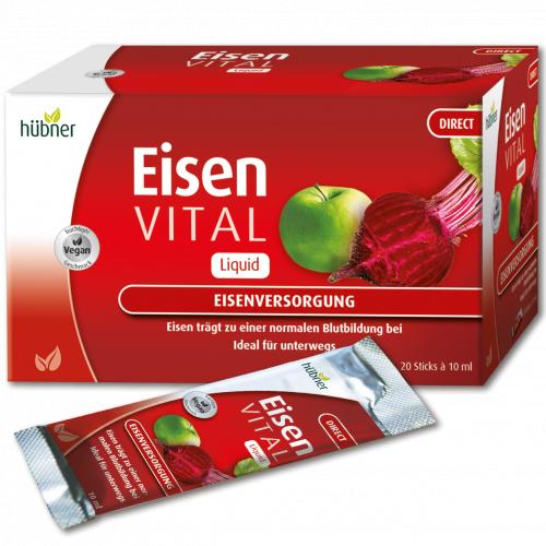 德國 Hübner Eisen Vital F 甜菜根大補鐵補充劑 (10ml *20 片裝)