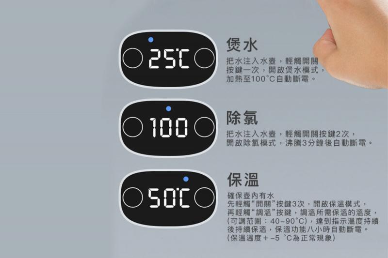現代 - 摺疊旅行電熱水壼 - HK-01