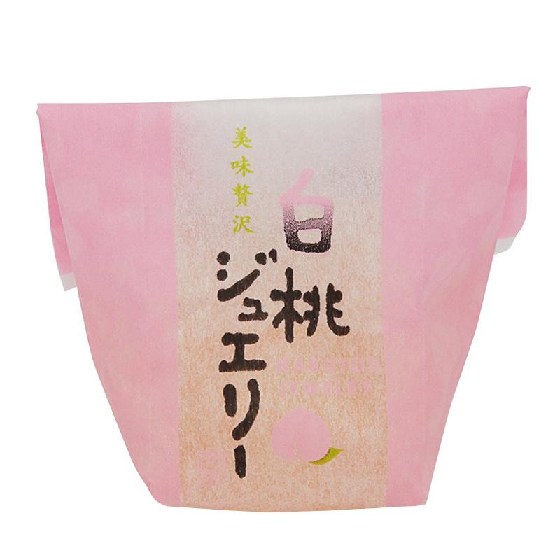 日版坂本製菓 岡山縣白桃果汁果凍 特色禮盒 (6件裝)
