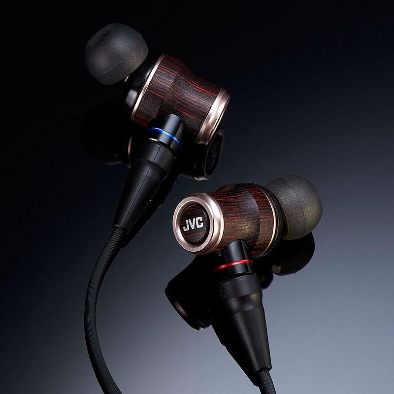 JVC HA-FW1800 木振膜入耳式耳機