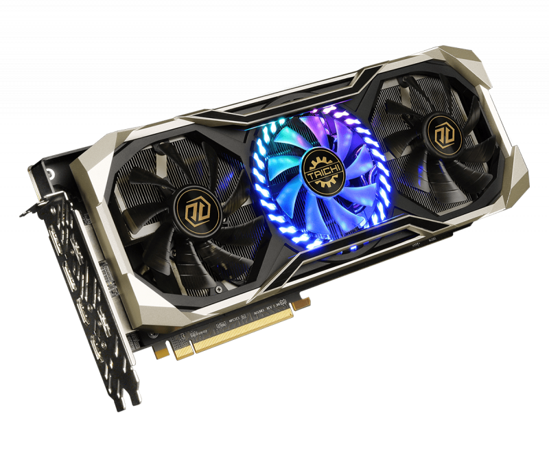 ASRock 華擎Radeon RX5700XT TAICHI X 8GB OC+