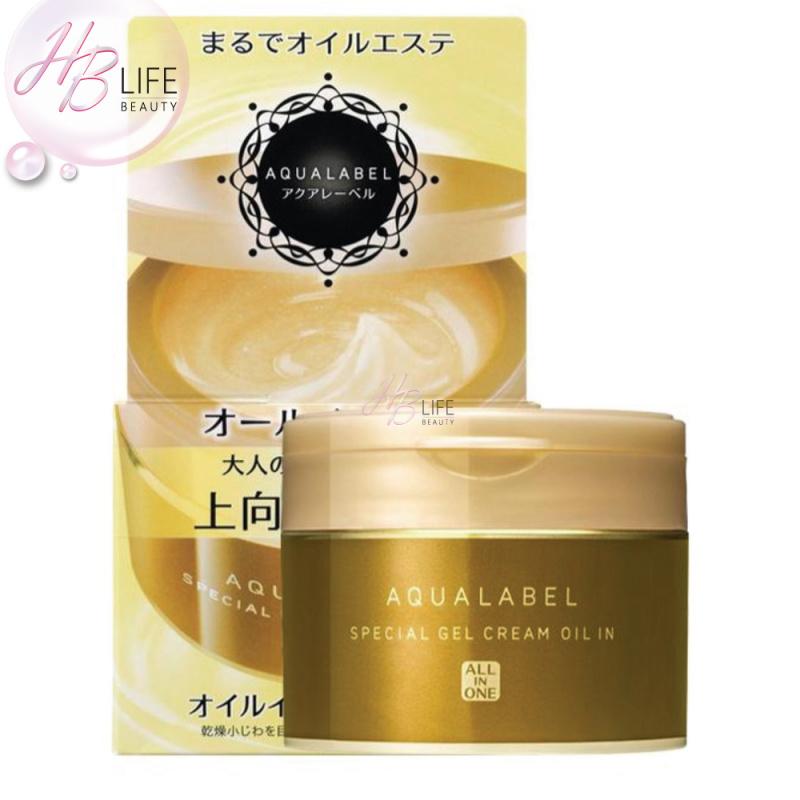 Shiseido Aqua Label 水之印全效精油緊緻彈力霜 (金版 90克)