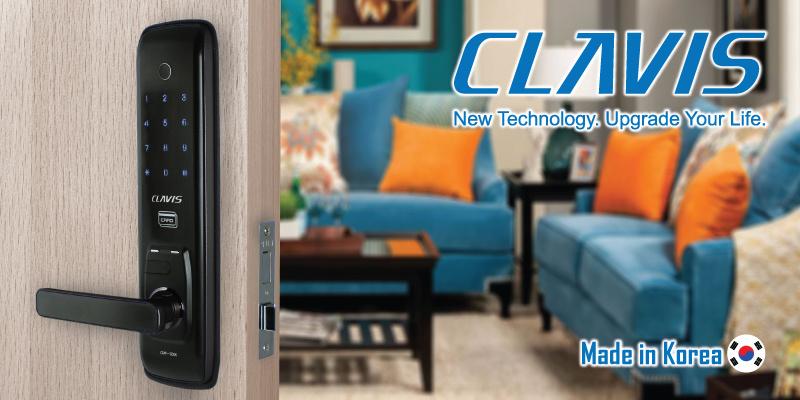 韓國Clavis CMF-1000K 四合一多功能韓式電子大門鎖