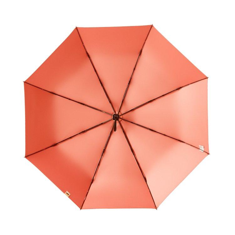 boy 三折防曬晴雨傘(焦橘粉)