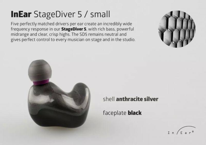 【陳列品DEMO優惠】InEar StageDriver SD5s