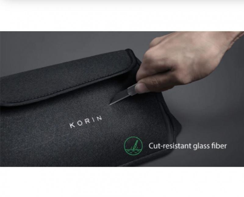 美國 KORIN ClickSling 高級簡約防盜單肩背包