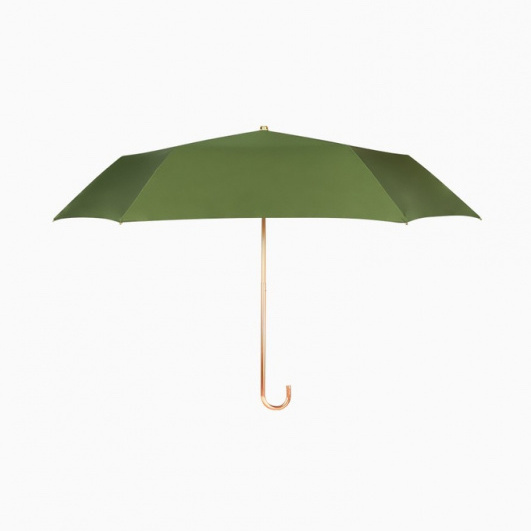 boy超輕金色彎頭公主傘 (復古綠)